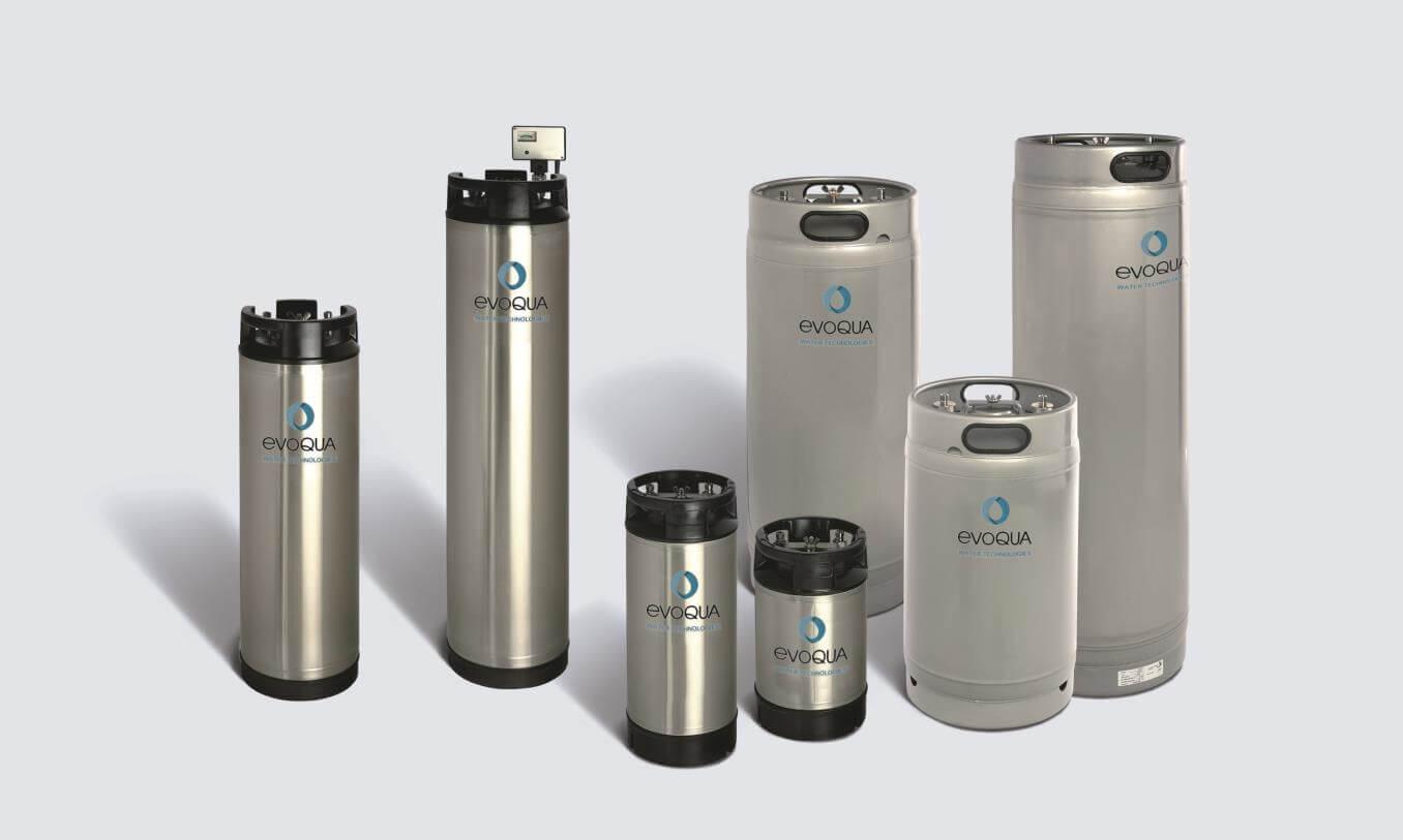 Evoqua laboratuvar için su deiyonizörleri